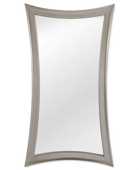 floor mirror macy s avery floor mirror silver leaf furniture macy s 299 bedrooms shops floor