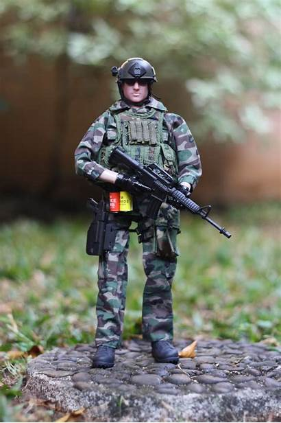 Military Scale Action Figure Kitbash Toys Tactical