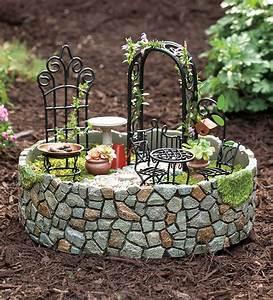 Decorative garden accents garden accents yard accents for Fairy garden accessories
