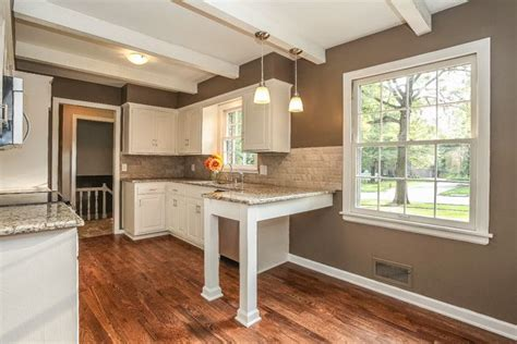 sherwin williams warm stone white kitchen small kitchen