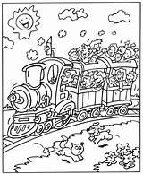 Trein Coloring Train Kleurplaten Treinen Trains Eisenbahn Kleurplaat Ausmalbilder Printable Toy Zum Malvorlagen Voertuigen Zuge Relay Kostenlos Konabeun Ausdrucken Transport sketch template