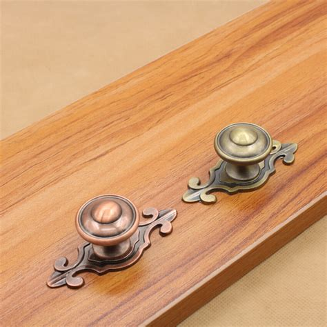 single hole cabinet pulls european antique door handles zinc alloy cabinet cupboard
