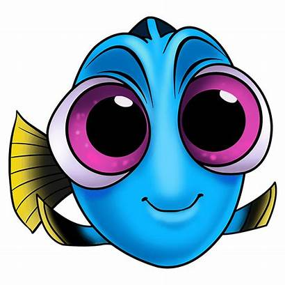 Drawing Easy Dory Draw Finding Step Disney