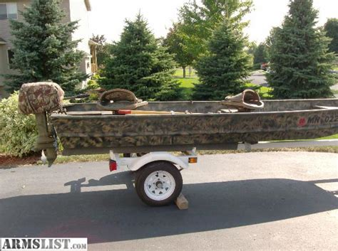 Used Pontoon Boat Trailers For Sale In Ohio by Seahawk Boat Motor Mount Used Jon Boat