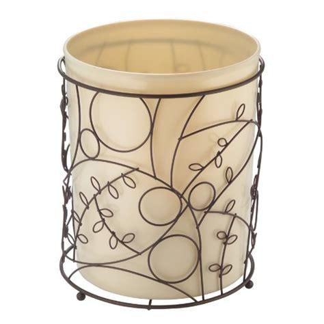 Bedroom Wastebasket by Interdesign Twigz Metal Wire And Plastic Wastebasket Trash