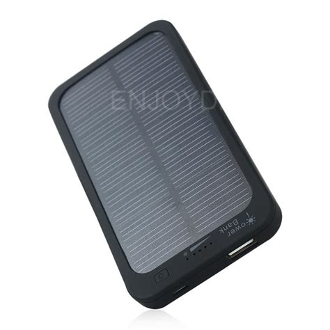 Best Price New 5000mah Solar Powered Charger Rechargeable