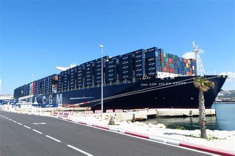 porte conteneur jules verne fran 231 ois hollande inaugure le porte conteneurs jules verne de la cma cgm construction navale
