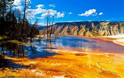 Yellowstone National Park Wallpapers Usa Nature Landscape