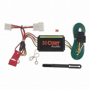 Curt Custom Wiring Harness  4-way Flat Output -56158