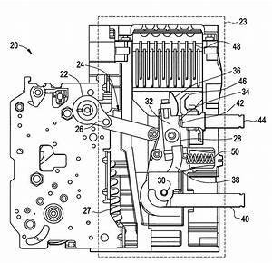 patent us7863534 spring discharge mechanism for circuit With circuit breakers 2