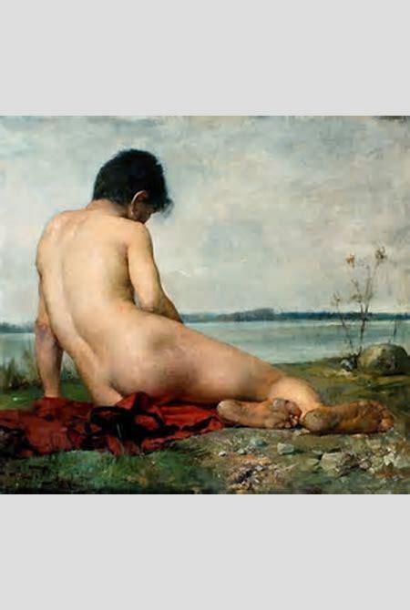 File:Trębacz Male nude in a landscape.jpg - Wikimedia Commons