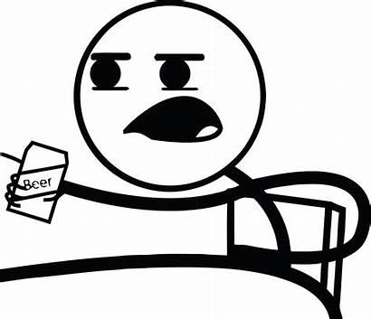 Cereal Guy Meme Rage Faces Beer Transparent