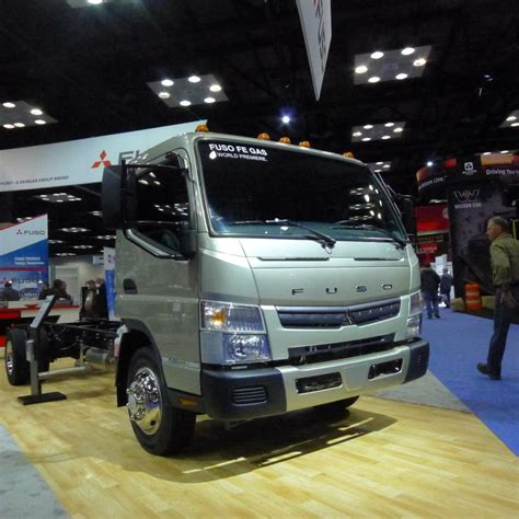 Mitsubishi Trucks Usa by Fuso Goes Petrol In The Usa Truck News