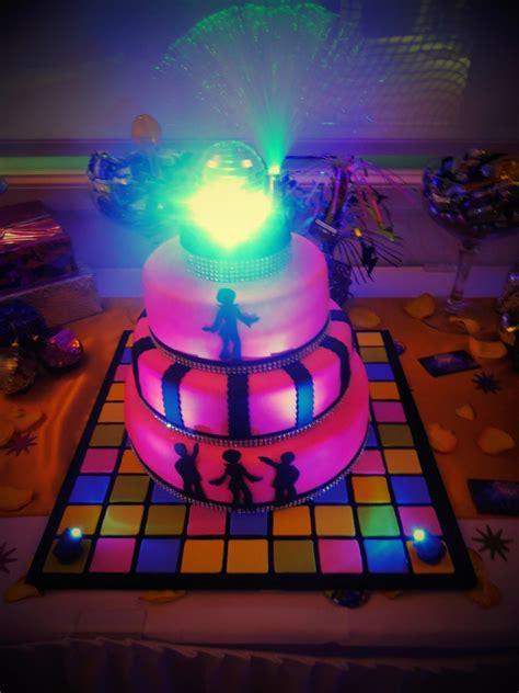 disco party cake cakecentralcom