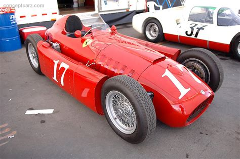1954 Lancia D50 At The Monterey Historic Automobile Races