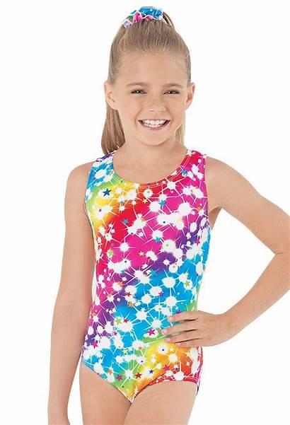 Leotard Rainbow Leotards Gymnastics Star Gym Tank