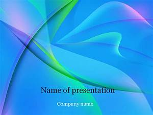 download free blue fantasy powerpoint template for With free presentation templates for powerpoint 2007