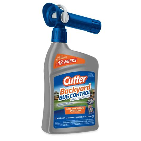 Backyard Spray by Shop Cutter 32 Fl Oz Insect At Lowes