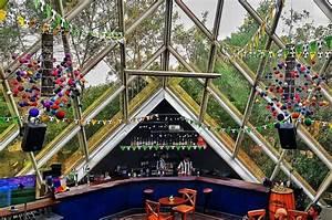 The Monkey Bar In Delhi Is Shaped Like A Pyramid
