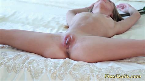 Teen Plays With Her Real Flexi Doll Blonde Porn