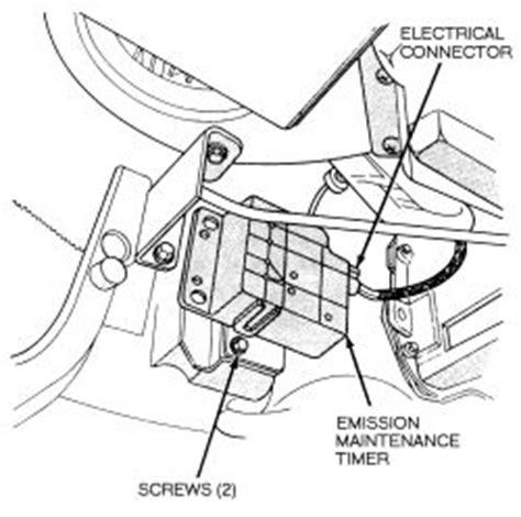 repair guides exhaust emission controls emissions maintenance reminder light autozone