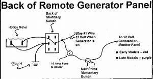 Onan Generator Starter Wiring Diagram