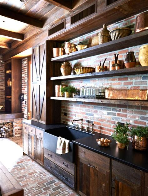 barn kitchen ideas 23 best rustic country kitchen design ideas and