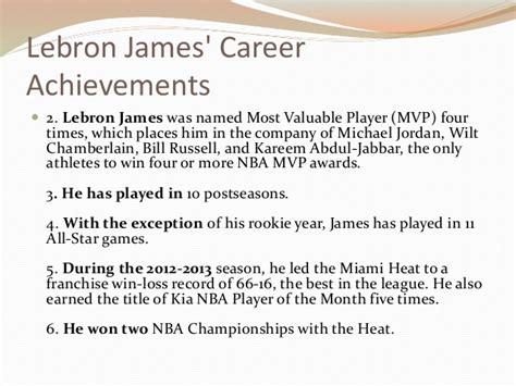 lebron james career achievements
