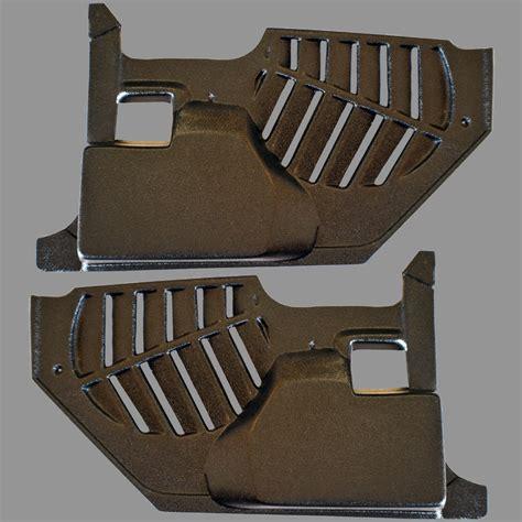 mustang convertible kick panels  speaker pod