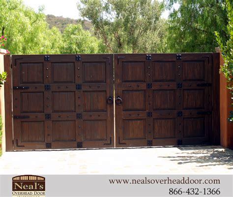 gallery custom wood garage doors gates installaion