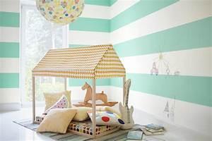 Farben Für Kinderzimmer : wandgestaltung in babyzimmer und kinderzimmer ~ Frokenaadalensverden.com Haus und Dekorationen