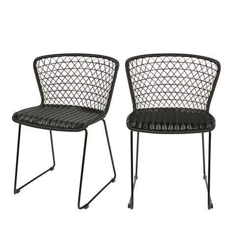 lot chaise de jardin chaises de jardin en corde x2 quadro drawer