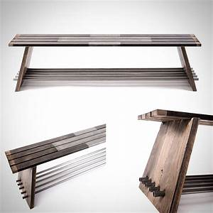 Entryway, Bench, Storage, Bench, Shoe, Bench, Industrial, Bench