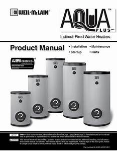 Product Manual Maintenance Startup Anode The Water Heater