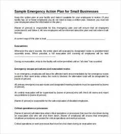 Emergency Action Plan Template Word