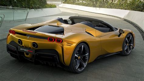 The remaining 220 cv is delivered by three electric motors, one at the rear, known as the mguk (motor generator unit, kinetic) due to its derivation from the formula 1. Ferrari SF90 Stradale Spider breaks cover - autoX