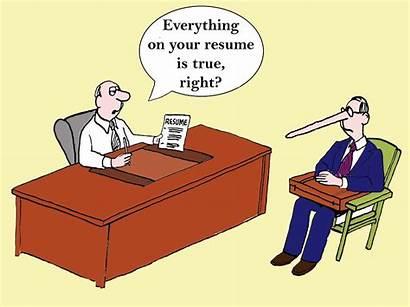 Resume Lie Job Resumes Lying Lies Responsibility