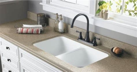 install undermount kitchen sink  granite countertops