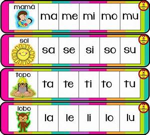 Genial y creativo llavero de sílabas para enseñar y aprender Material Educativo