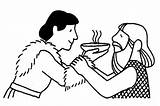 Jacob Esau Coloring Bible Preschool Activities Stew Netart Sonntagsschule Offered Bowl Malvorlagen Bibel Basteln Isaac Jakob Bijbel Birthright Crafts Ambachten sketch template