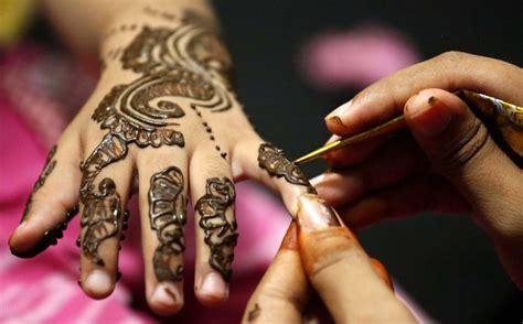 indien hochzeit  henna menschen faz