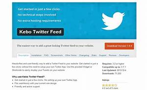 15 best wordpress twitter plugins wp template With wordpress rss feed template