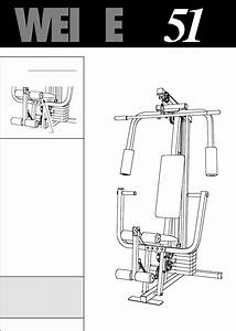 Weider Home Gym Wesy85100 User Guide