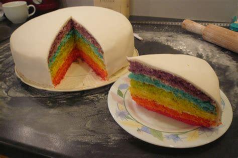rainbow cake pour anaelle la manie des gateaux