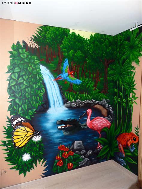 chambre de bébé jungle chambre jungle chambre lyonbombing