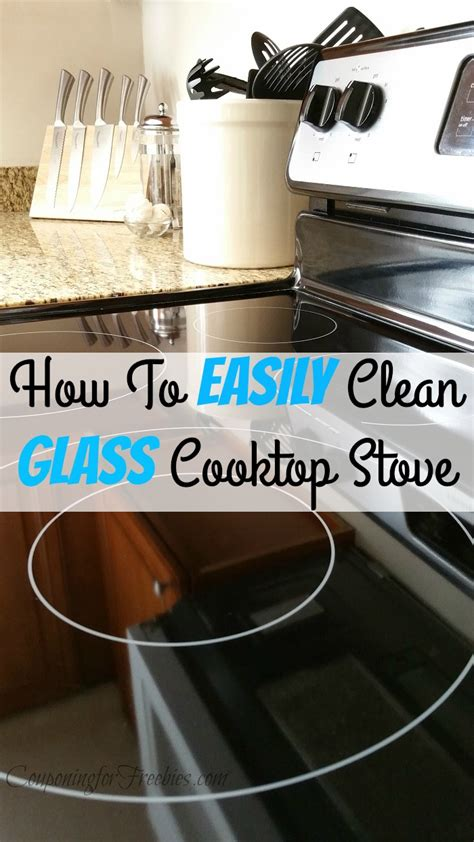 how to clean glass cooktop wednesday s weekly savings tips how to clean glass
