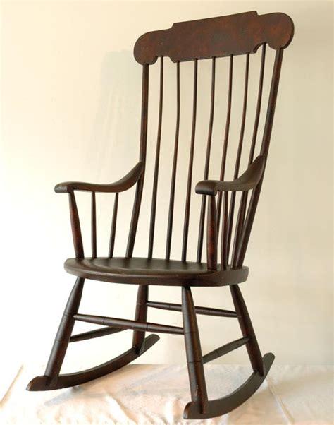 19thc new boston rocking chair at 1stdibs