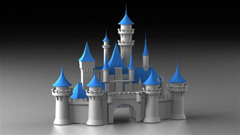ds disney cinderella castle logo