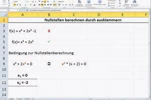 Nullstellen Berechnen Ausklammern : funktion dritten grades informatives ~ Themetempest.com Abrechnung