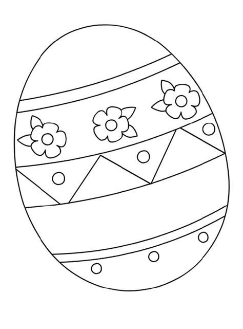 blank easter egg templates activity shelter